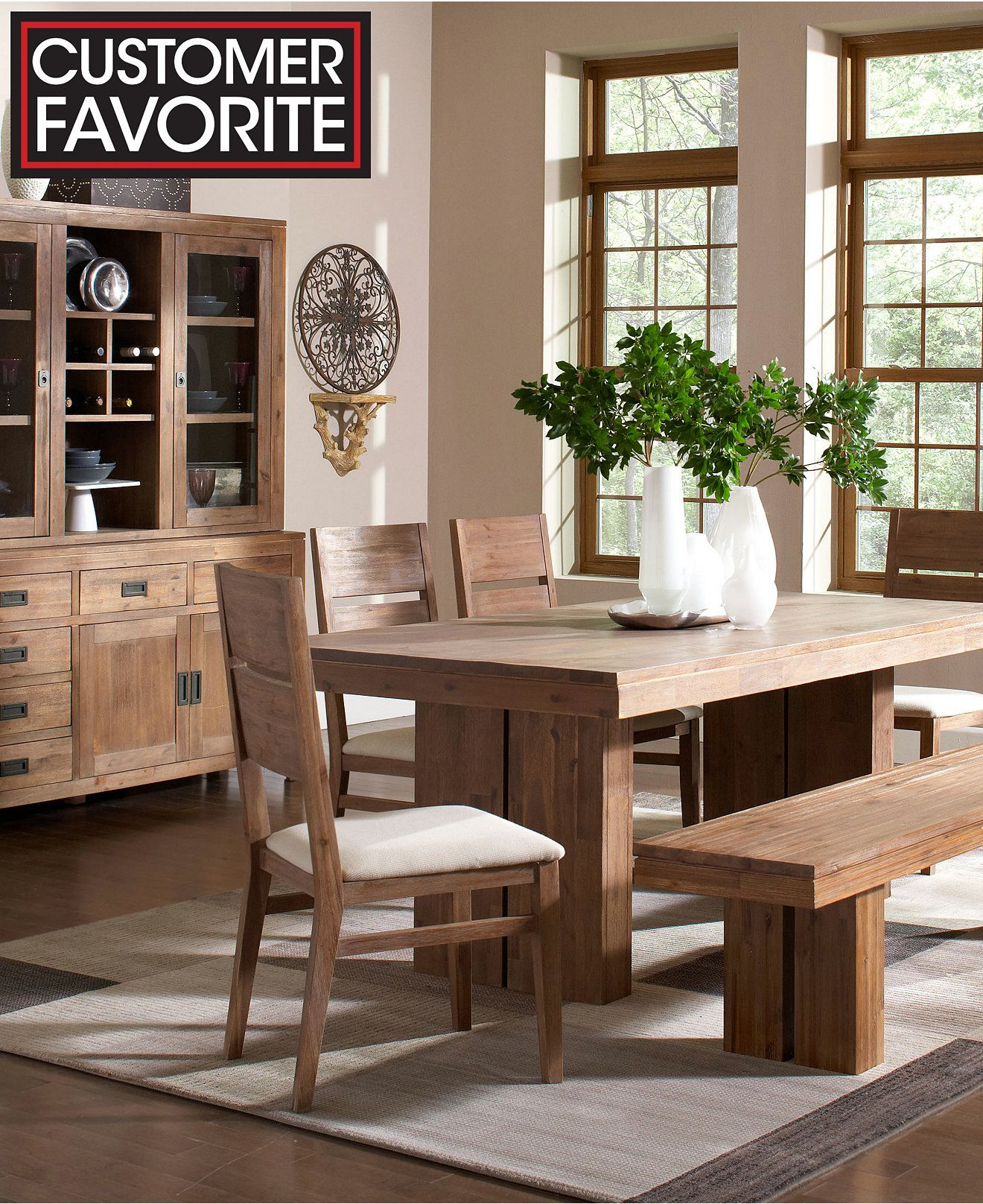 Champagne Dining Room Furniture Collection Created for Macy s