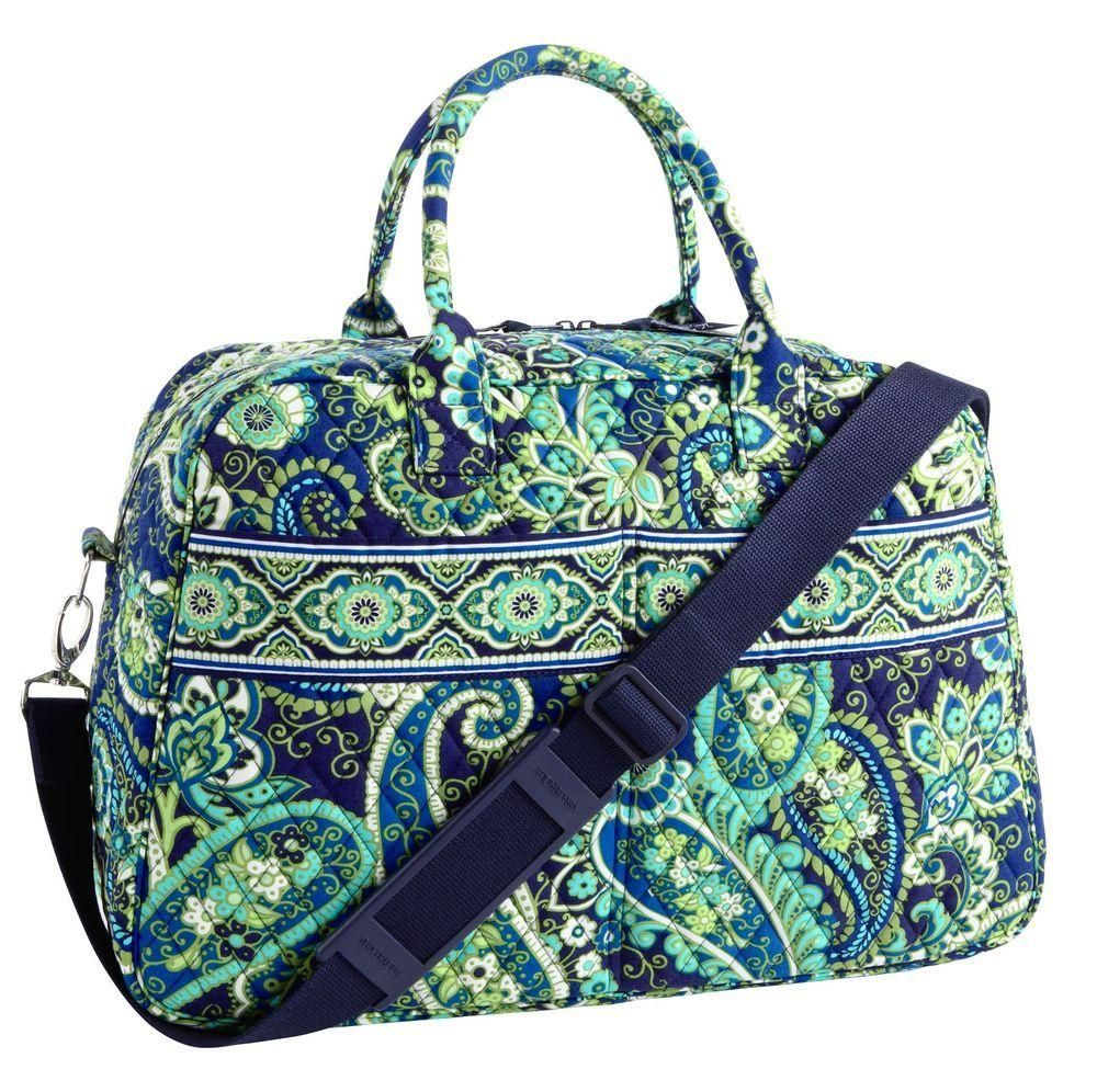 f304d8c3b003 Vera Bradley Weekender in Rhythm and Blues