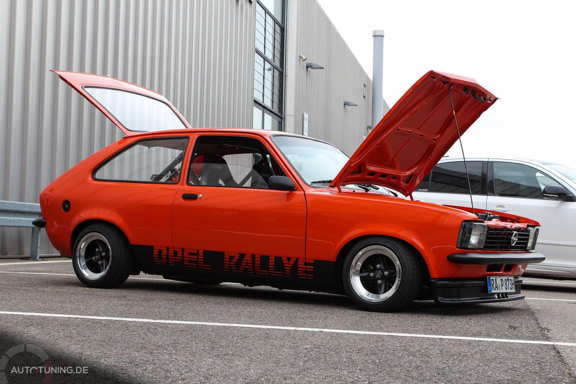 Opel Kadett C City Performance In Orange Opel Kadett C