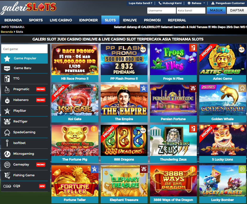 Daftar Slot Game Idn Poker Idn Live Dan Casino Online Terpercaya Slot Casino Sportsbook