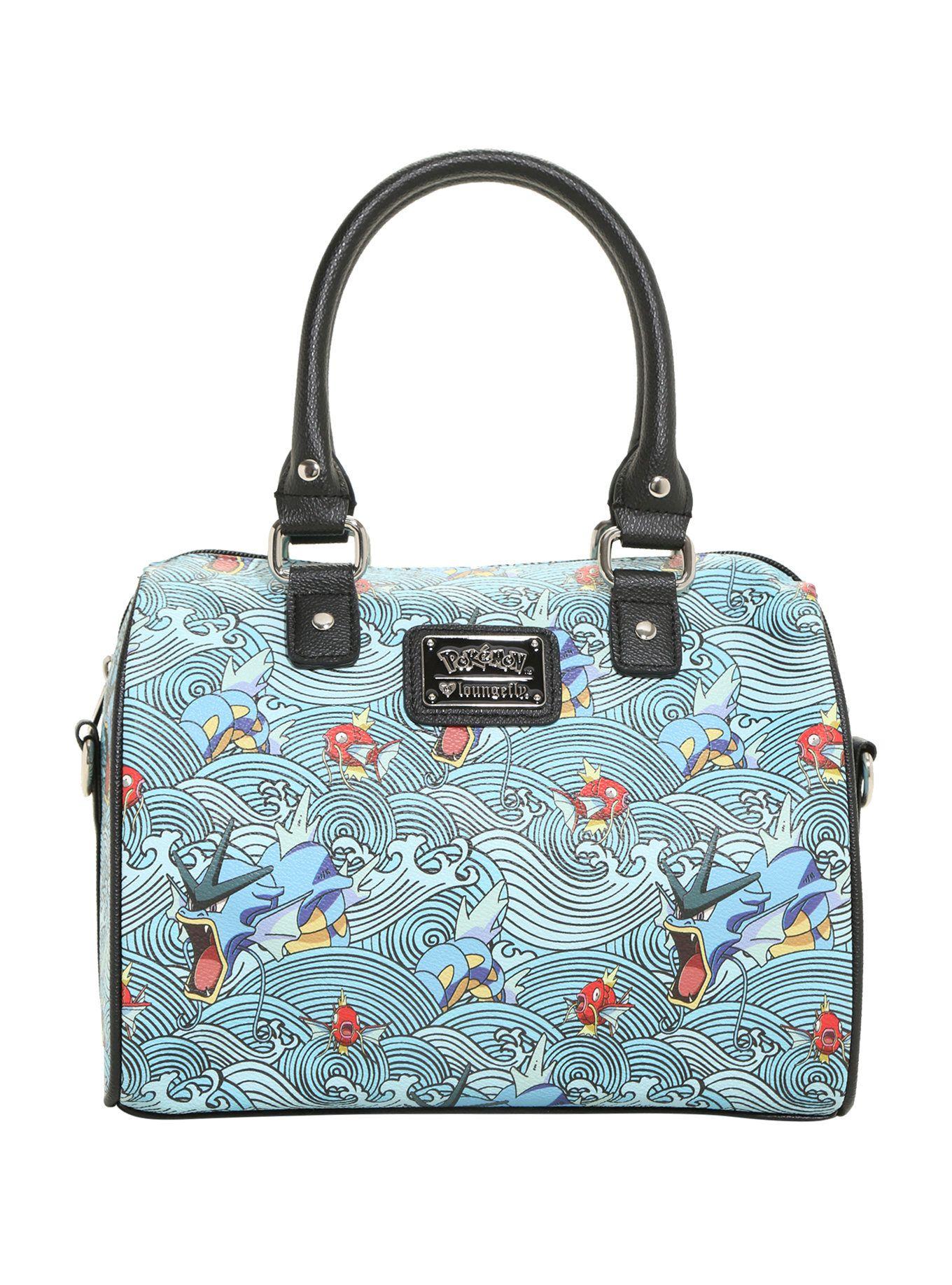 8333157835c Loungefly Pokemon Gyarados Wave Barrel Bag | hot topic | Barrel bag ...
