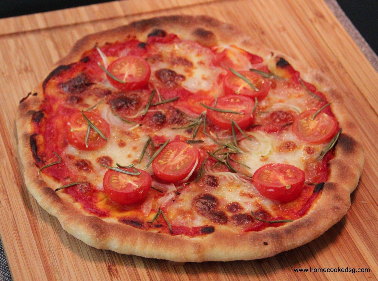 Home cooked sg tomato rosemary pizza gordon ramsay