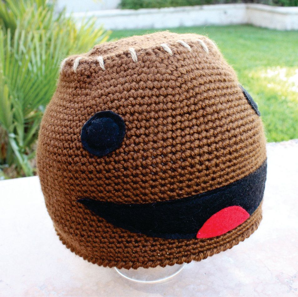 Sackboy Inspired Hat: LittleBigPlanet LBP -ish Cartoon Kawaii Handm ...