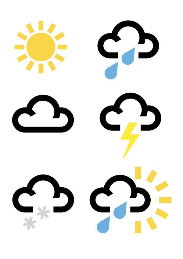 Image result for bbc weather symbols | lasercut | Bbc