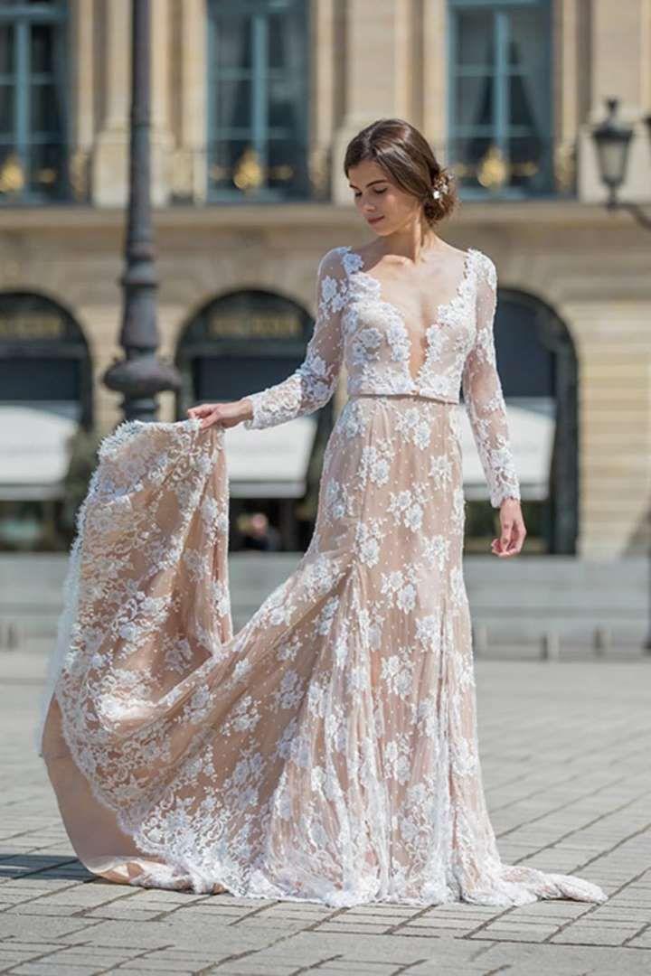 Tendance mariage: la robe de mariée nude