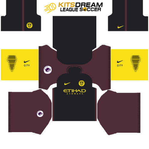 Kits Manchester City Dream League Soccer 2019 2018 2017 Juegos De Football Uniformes Soccer Futbol Vector
