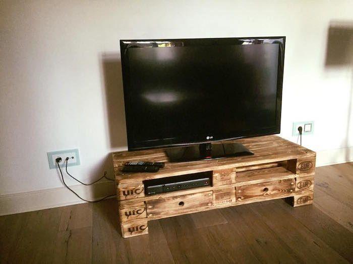 Meuble Tv Palette Le Recyclage En Chaine Meuble Tele En Palette Meuble Tv Palette Tv Palette