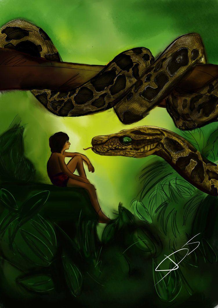 The Jungle Book Kaa Jungle Book Snake Jungle Book Jungle Book Movie
