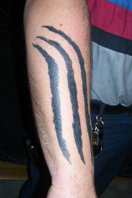 tribal claw mark tattoo claw marks mark tattoos pinterest tattoo rh pinterest com cheetah claw mark tattoo claw mark tattoo pictures