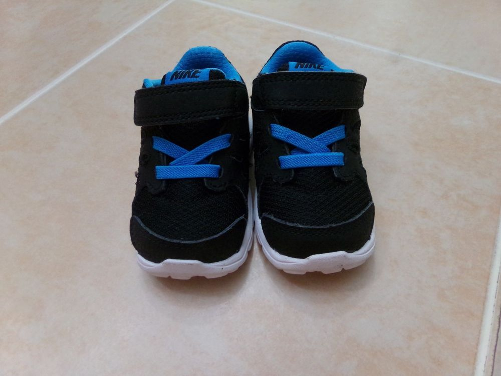Nike Revolution Infant Baby Athletic Shoes Sneakers Size 4 C Black Blue Euc Fashion Clothing Shoes Accessories Boys Athletic Shoes Sneakers Athletic Shoes