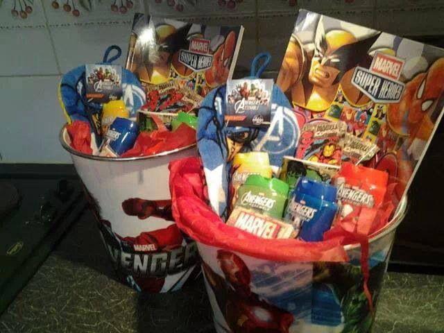 Superhero Hamper Hamper Gift Baskets Gifts
