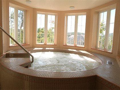 Cool Indoor Hot Tubs Indoor hot tub   hot tub   Pinterest   Hot tubs ...