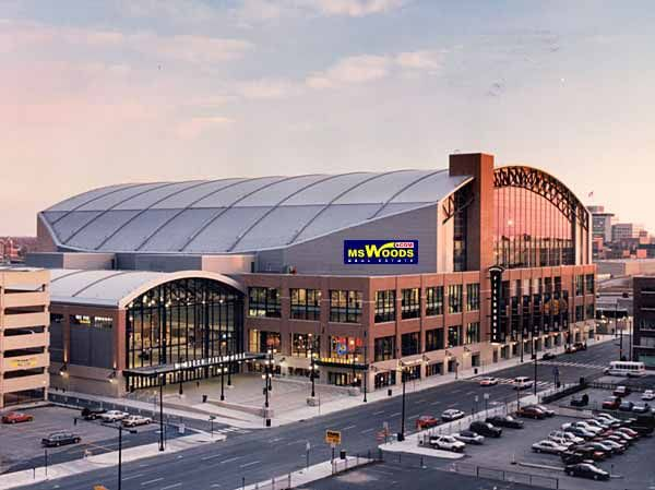Home Of The Indiana Pacers Formerly Conseco Fieldhouse Bankers Life Fieldhouse Sports Arena Nba Arenas