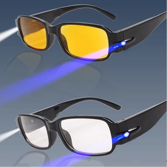 Multi Strength Reading glasses with LED glasses Man Woman