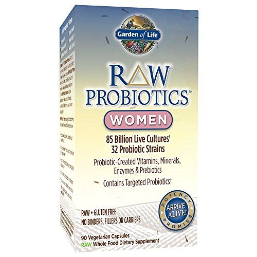 Garden Of Life Whole Food Probiotic For Women Raw Probi Probiotics Best Probiotic Prebiotics