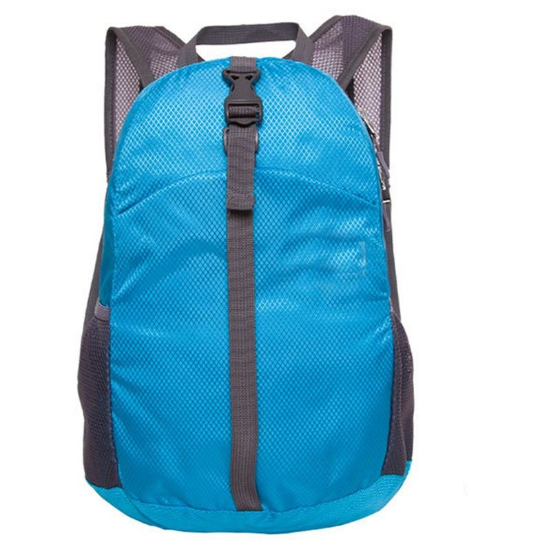 a360aaa7e1e1 20-35L Outdoor unisex Nylon camping Backpack waterproof folding Rucksack  lightweight travel sports bag for