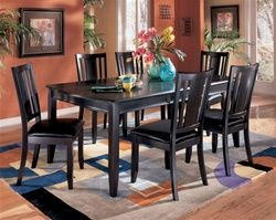 7 Pc Ashley Carlyle Dining Set Furniture Dining Room Table Ashley Dining Room Dining Room Furniture