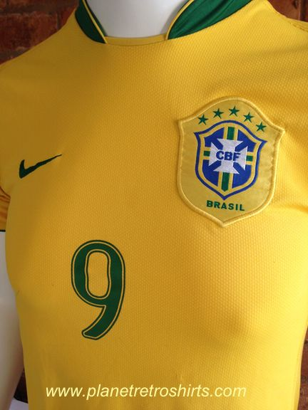 308974c7 Brazil home shirt 2006-08. Made by Nike. As worn by Ronaldo at the ...