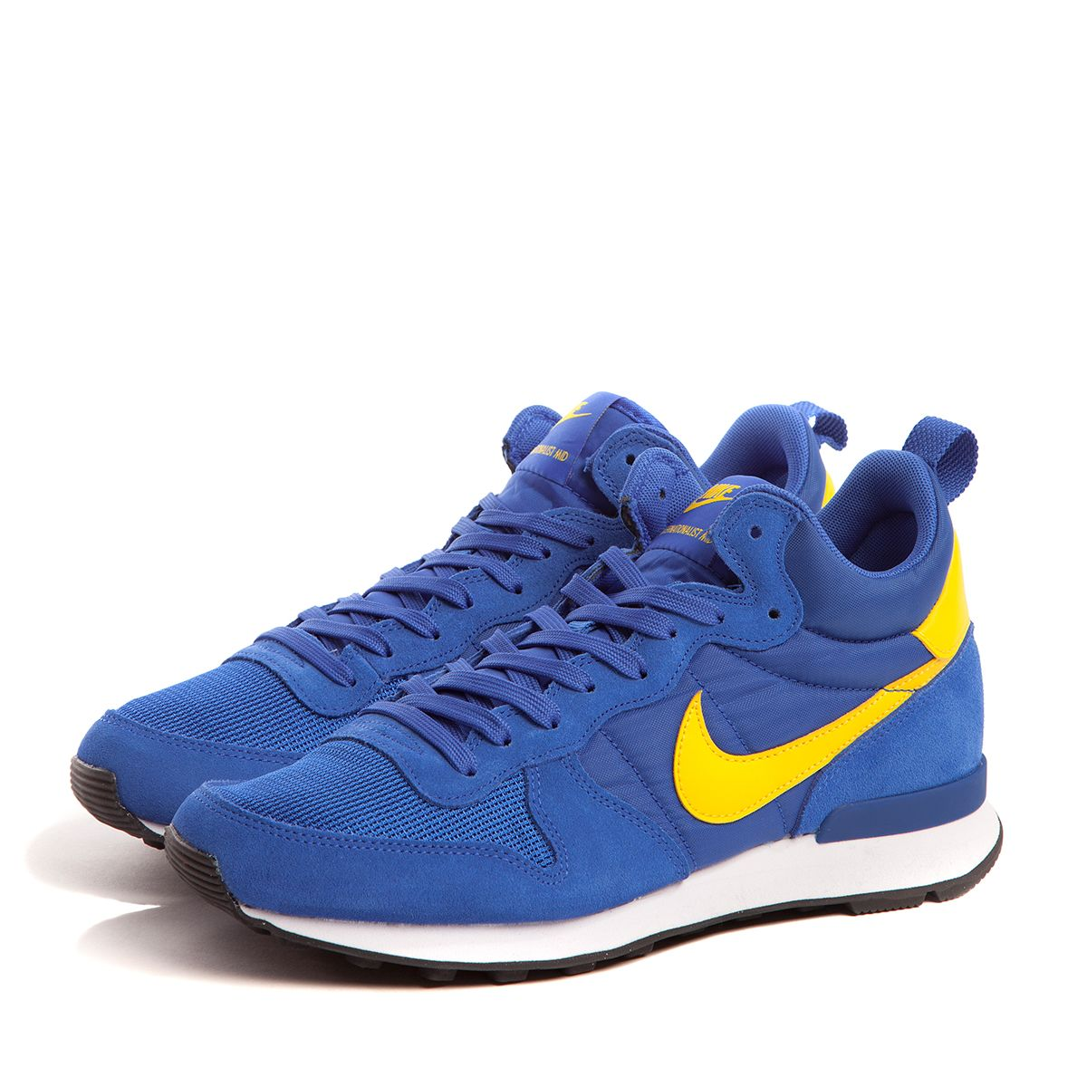 nike internationalist blue yellow