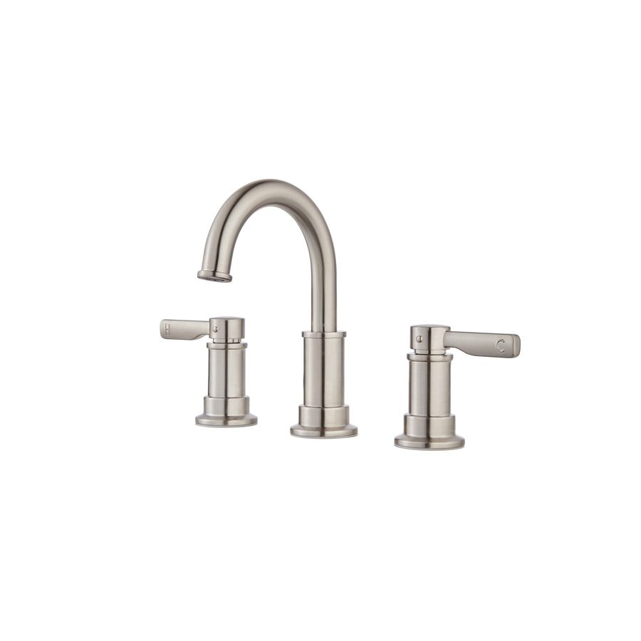 Pfister Breckenridge Brushed Nickel 2Handle Widespread Watersense Alluring Brushed Nickel Bathroom Faucets Decorating Inspiration