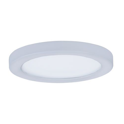 Wafer Led White Five Inch Led Flush Mount Maxim Lighting Flush Mount Lighting Led Flush Mount