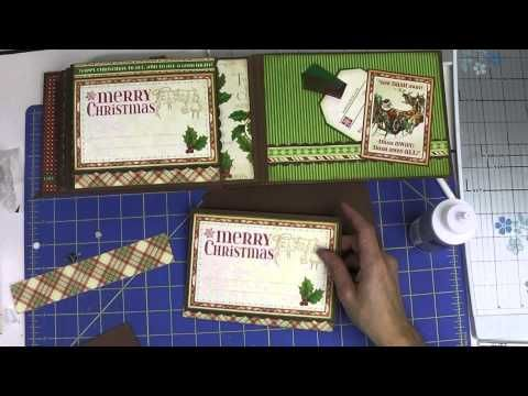 Nov 2014 G45 Twas the Night Before Xmas Tutorial Part 2b: Hidden Flaps, Pockets & Decorating the Twas the Night Before Ch...