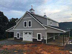 Virginia Barn Company: Pole Barn Builder, VA | Residential