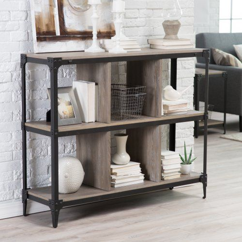 belham living trenton 6-cube narrow bookcase - bookcases at
