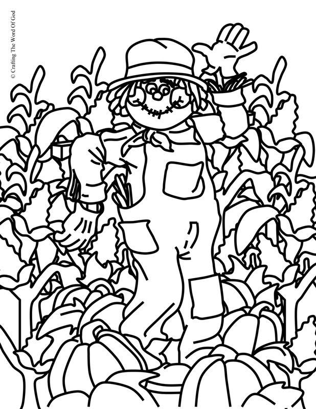 Thanksgiving Coloring Page 1 (Coloring Page) Coloring