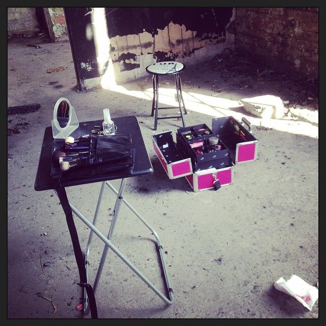 My studio today  #mua #makeup #location #photoshoot