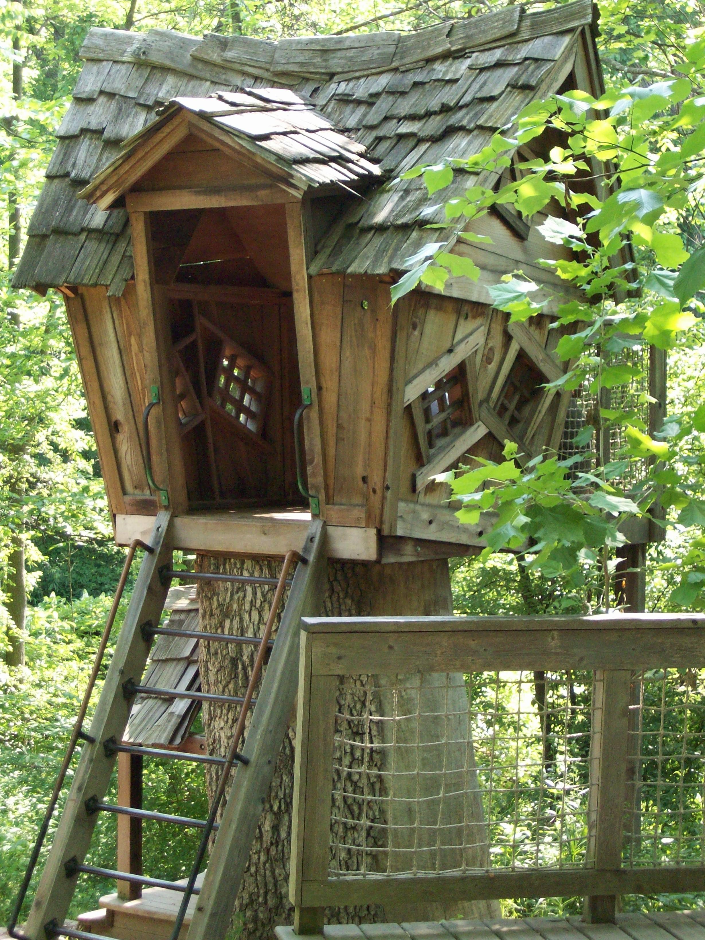 Jeffers Kids Were Here - Garden Tree House Inniswood Metro Gardens ...