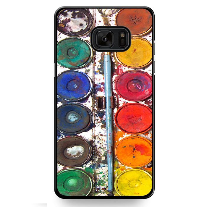 Watercolor Plate TATUM-11837 Samsung Phonecase Cover For Samsung Galaxy Note 7