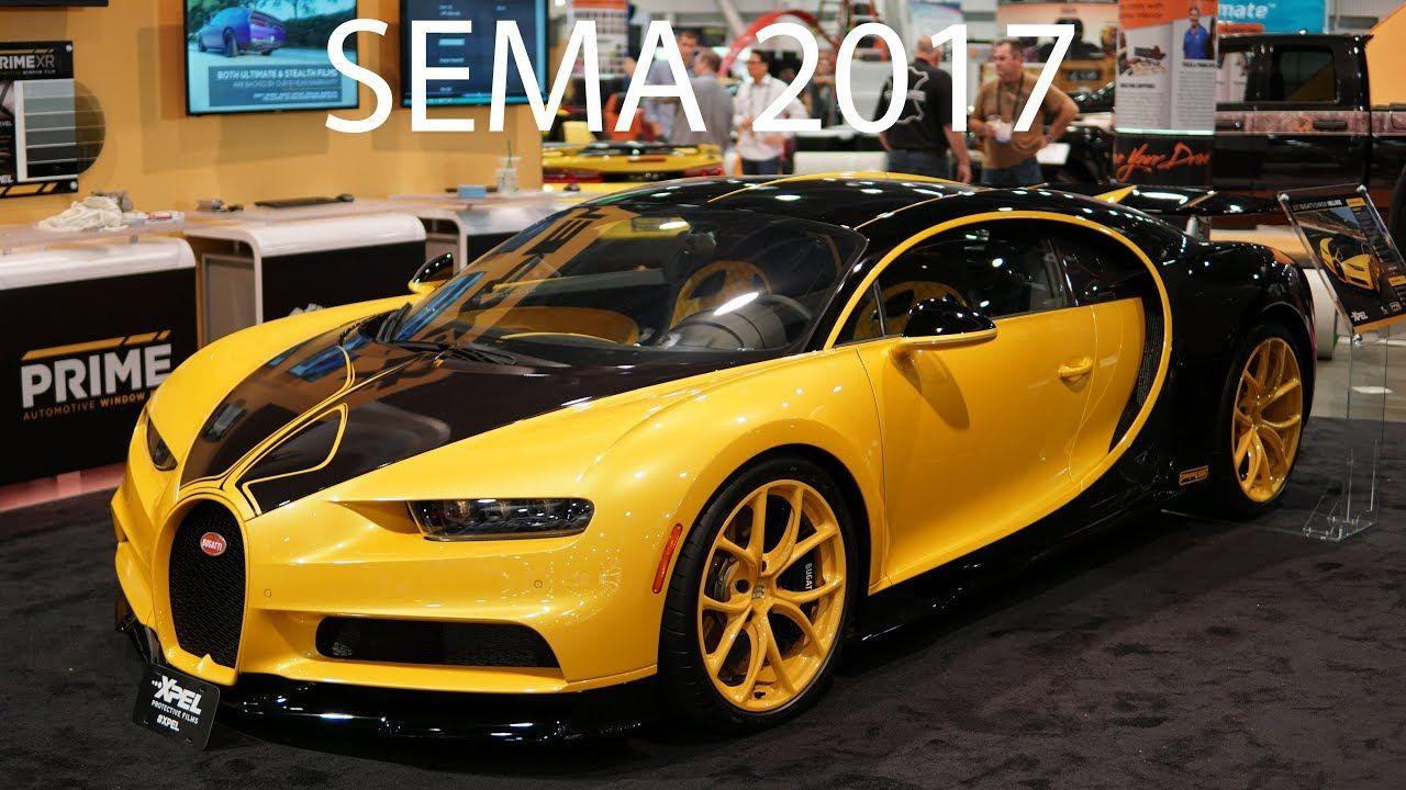 Cars At Sema Show 2017 Las Vegas Nevada Nevada Las Vegas Bugatti Chiron