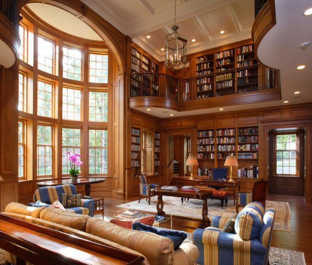 16 Classic Home Library Designs That Are Dream Of Every Book Lover ...