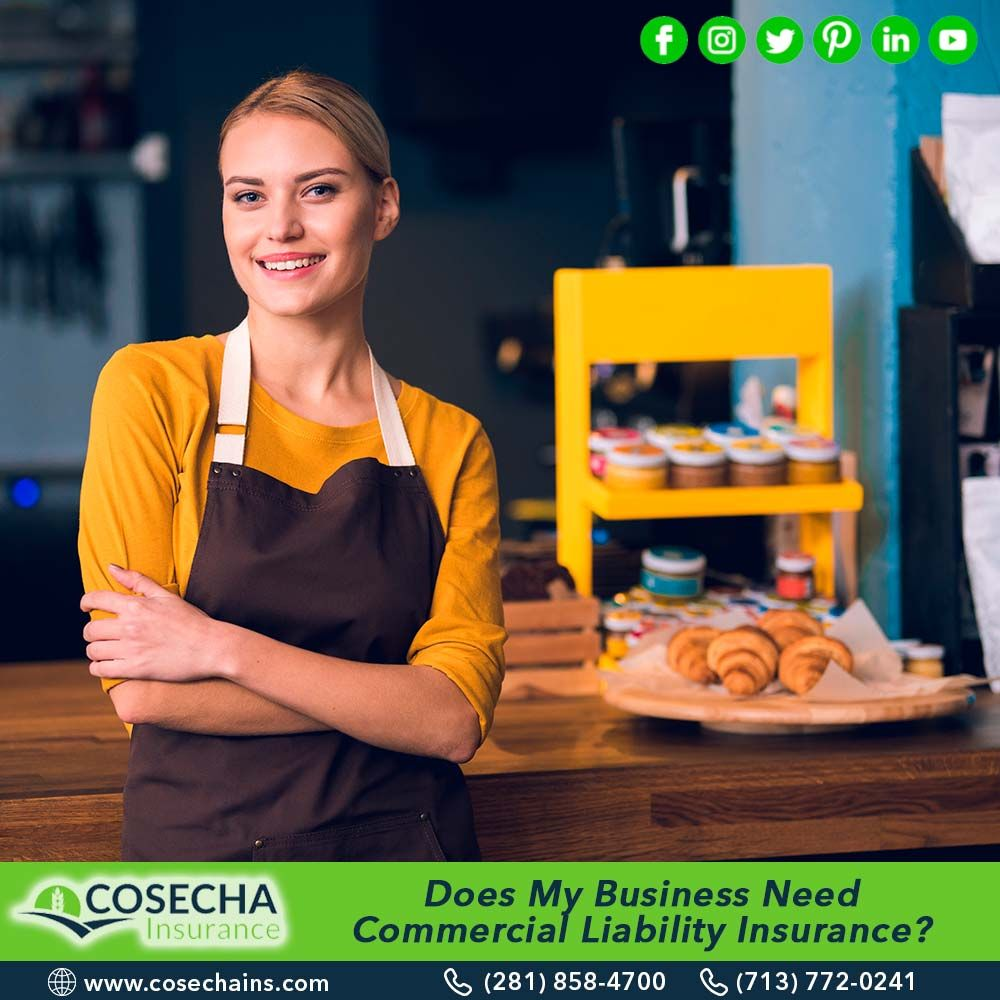 Does my business need commercial liability insurance