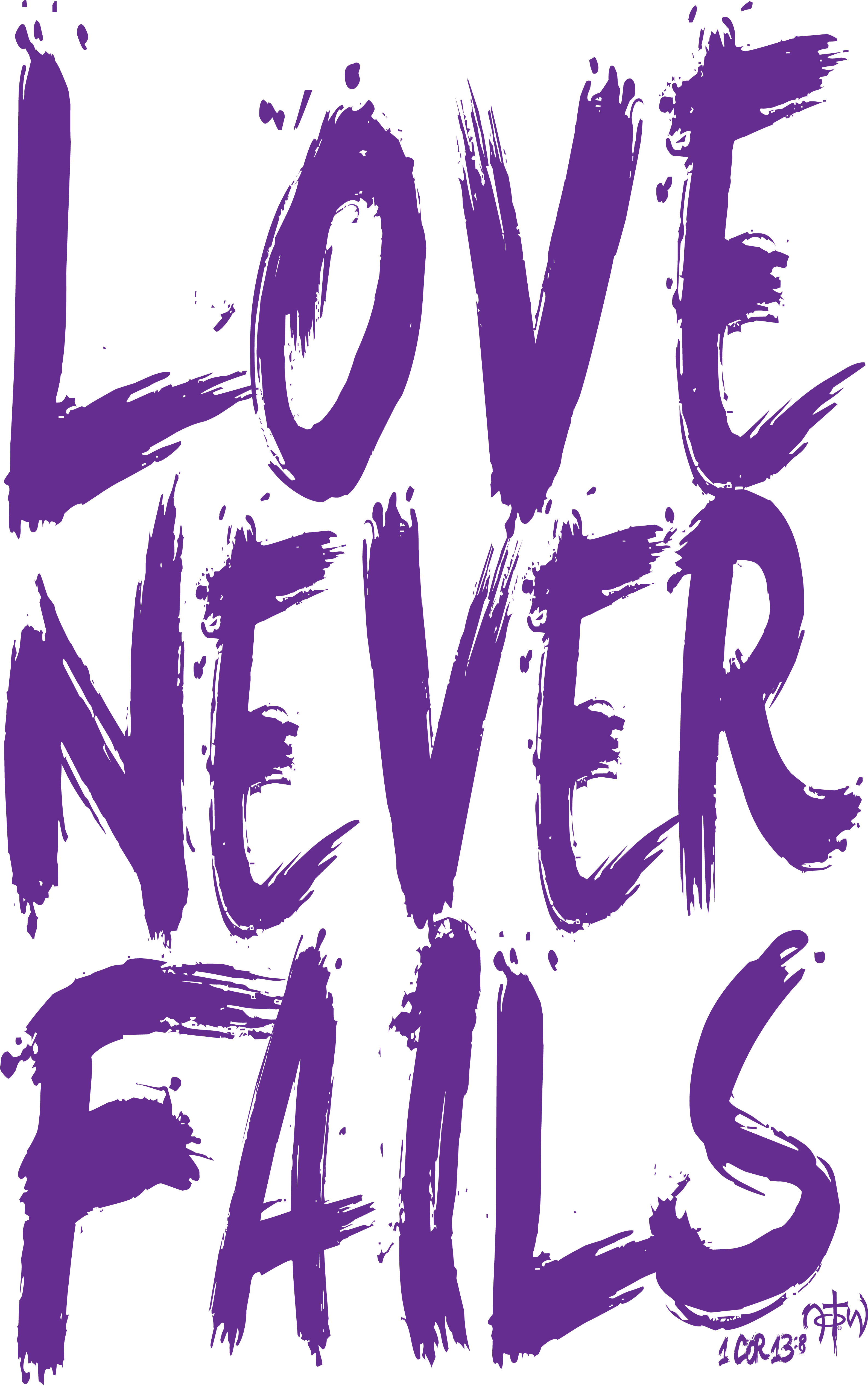Never Fails    Comes in guys and girls tees!