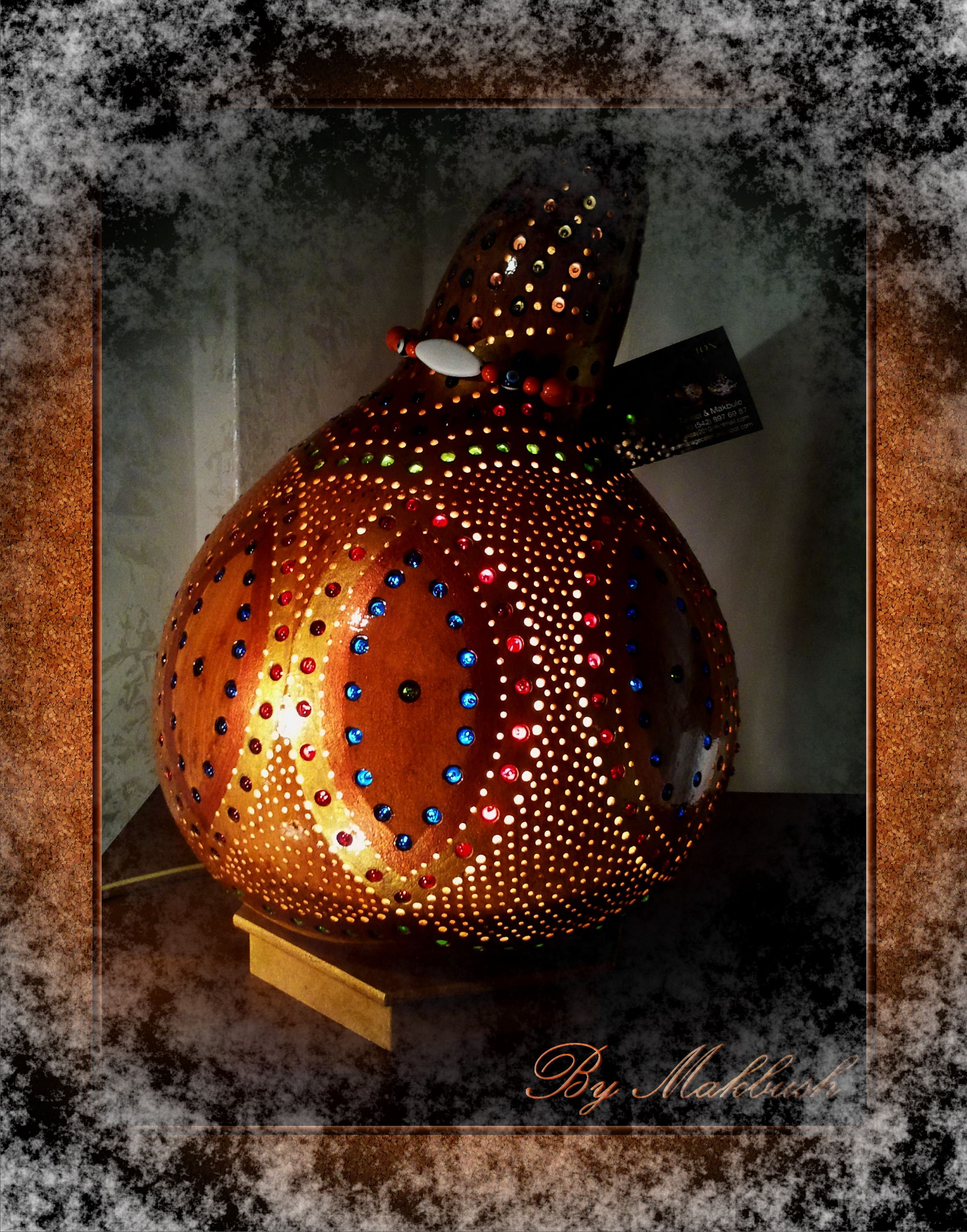 available vorrtig 149 authentischen krbis lampen autentici lampade zucca authentic gourd lamp - Krbis Tischlampen