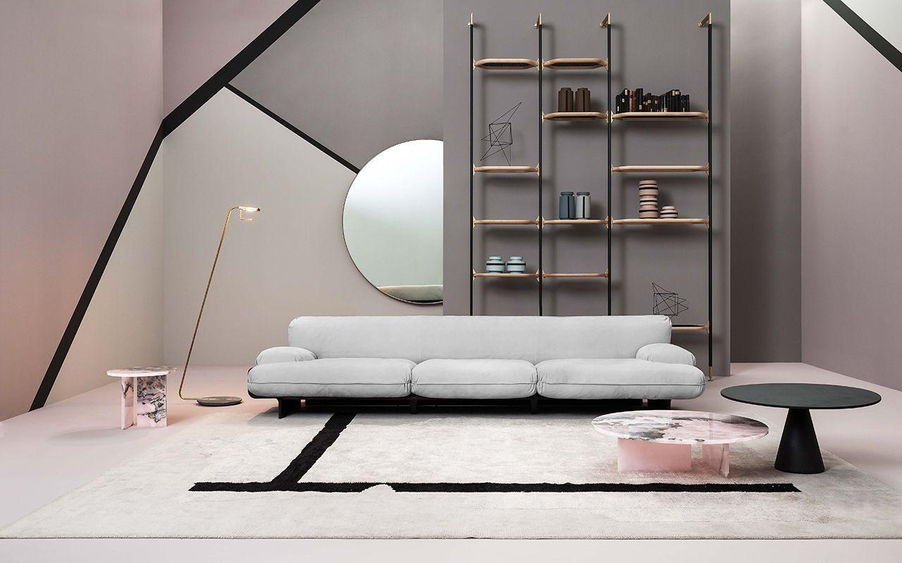Tavolino Tebe Baxter Minimalist Living Room Decor Mirror Wall Bedroom Small Apartment Decorating Living Room [ 800 x 1280 Pixel ]