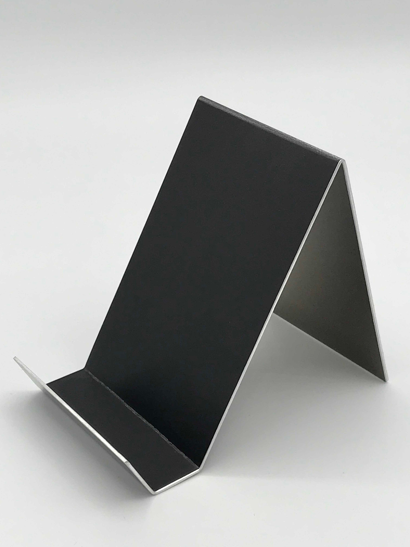 Black Vertical Anodized Aluminum Card Holder Vertical Business Card Holder Vertical Business Cards Vertical