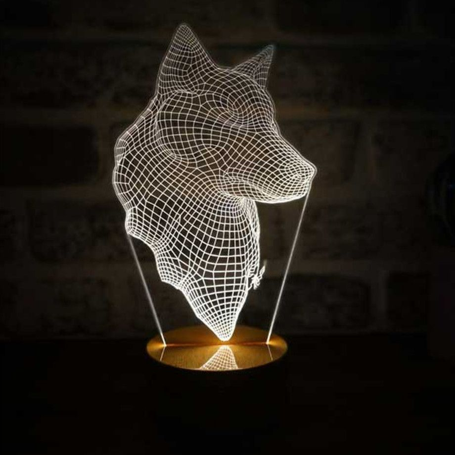 Bylamp Unique 3d Illusion Lighting Touch Of Modern 3d Illusion Lamp 3d Illusions Art Design