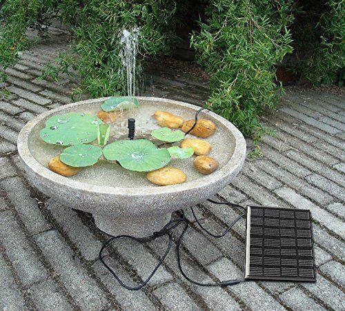 Sunnytech Solar Power Water Pump Kits Garden Fountain