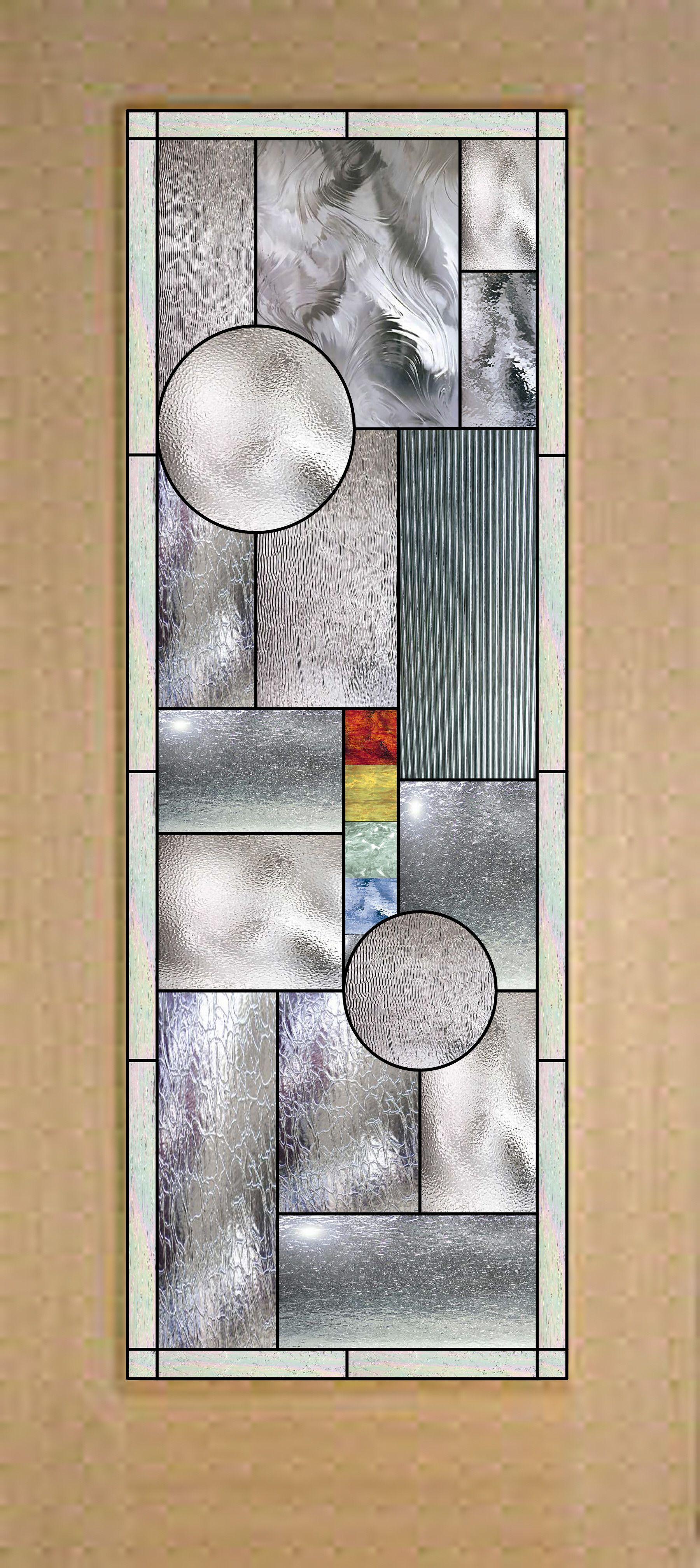 Awesome geometric stained glass door 119900 plus shipping elegant stock sized stained glass by artglasswindows on etsy planetlyrics Images
