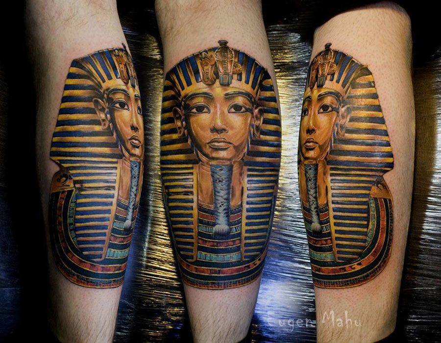 Tutankhamun Tattoo | Tattoos | Pinterest | Tutankhamun, Tattoo and ...