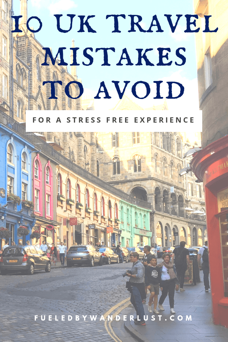 The best travel tips for your UK trip to avoid the types of planning mistakes made by yours truly.  Includes advice on the amount of cities to visit and how to not overstuff your itinerary.  These tips will allow you to plan your trip so your time in London and other UK cities is actually enjoyable and stress-free. #uktraveltips #uktravel #uktravelitinerary