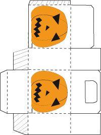 Halloween bricolages imprimer des boites avec motifs for Gabarit chauve souris a imprimer