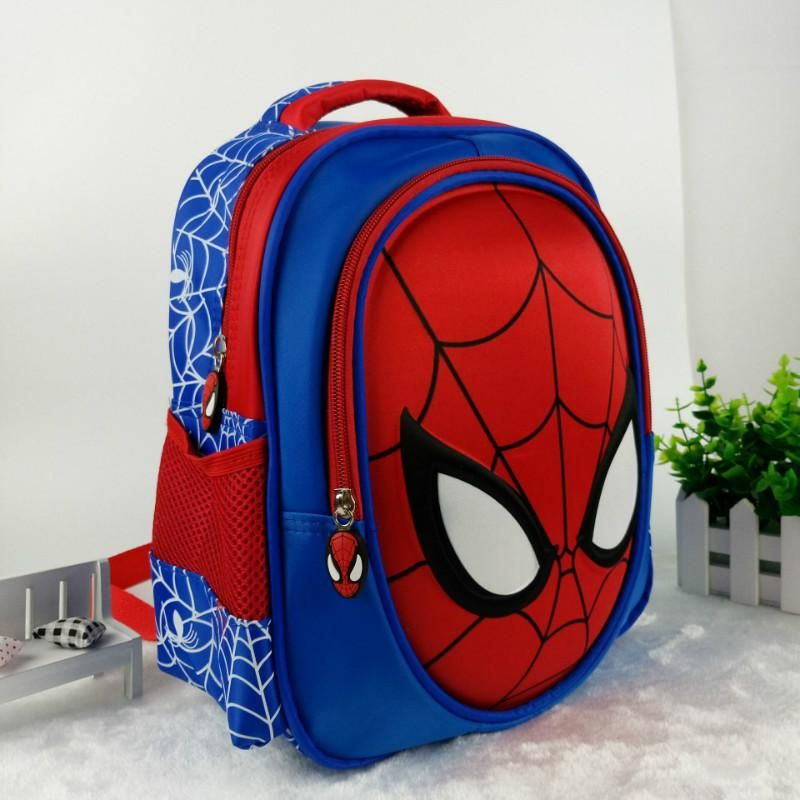 45835f654898 Hot 3D stereo Children s Boy spider man Cute New School Bag Boys Backpack  Kids Children Cartoon School Bags Backpacks Baby