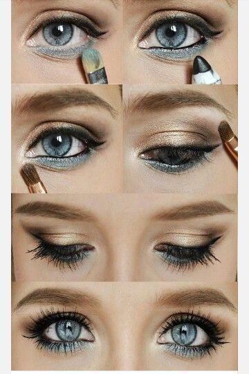 Summer makeup! Summer makeup! | Makeup For Blue Eyes, Gold Makeup, Eye Make Up, Beauty Makeup, …  #beauty #makeup #summer – Das schönste Make-up