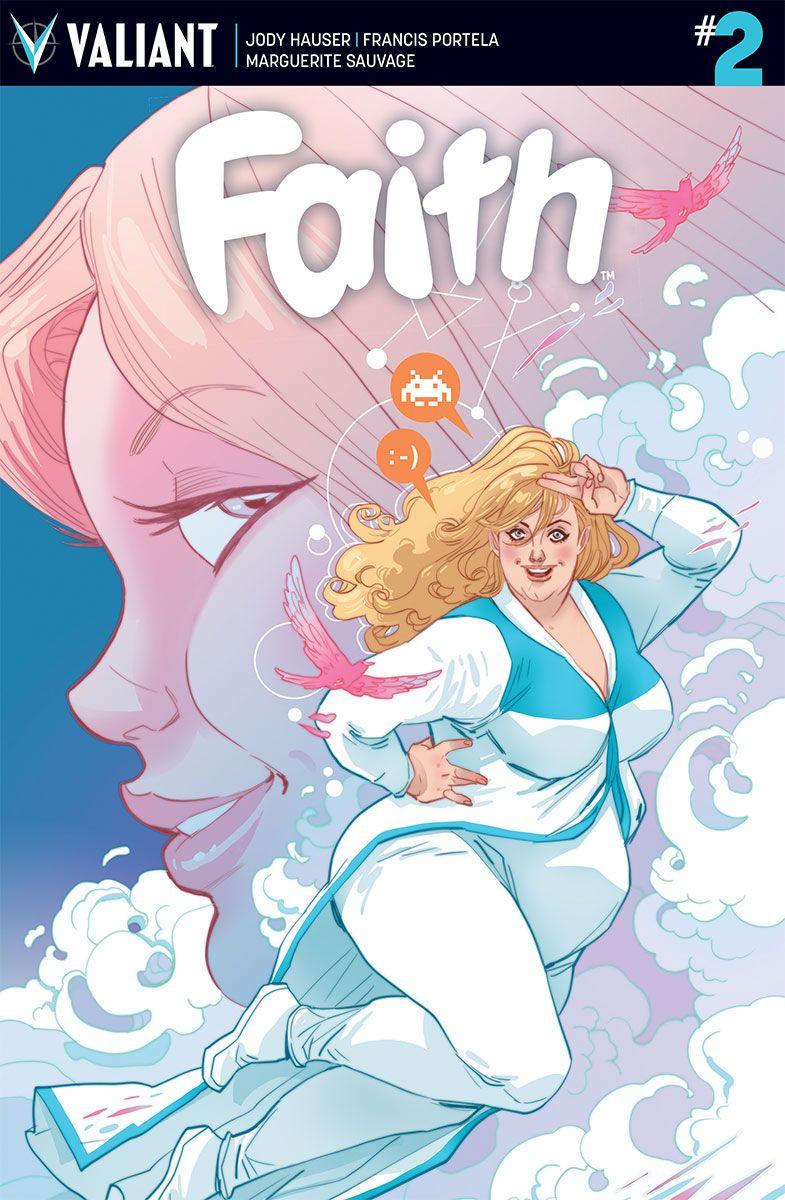 First Look Faith 2 Bounding Into Comics Valiant Comics Graphic Novel Cover Sjw Art
