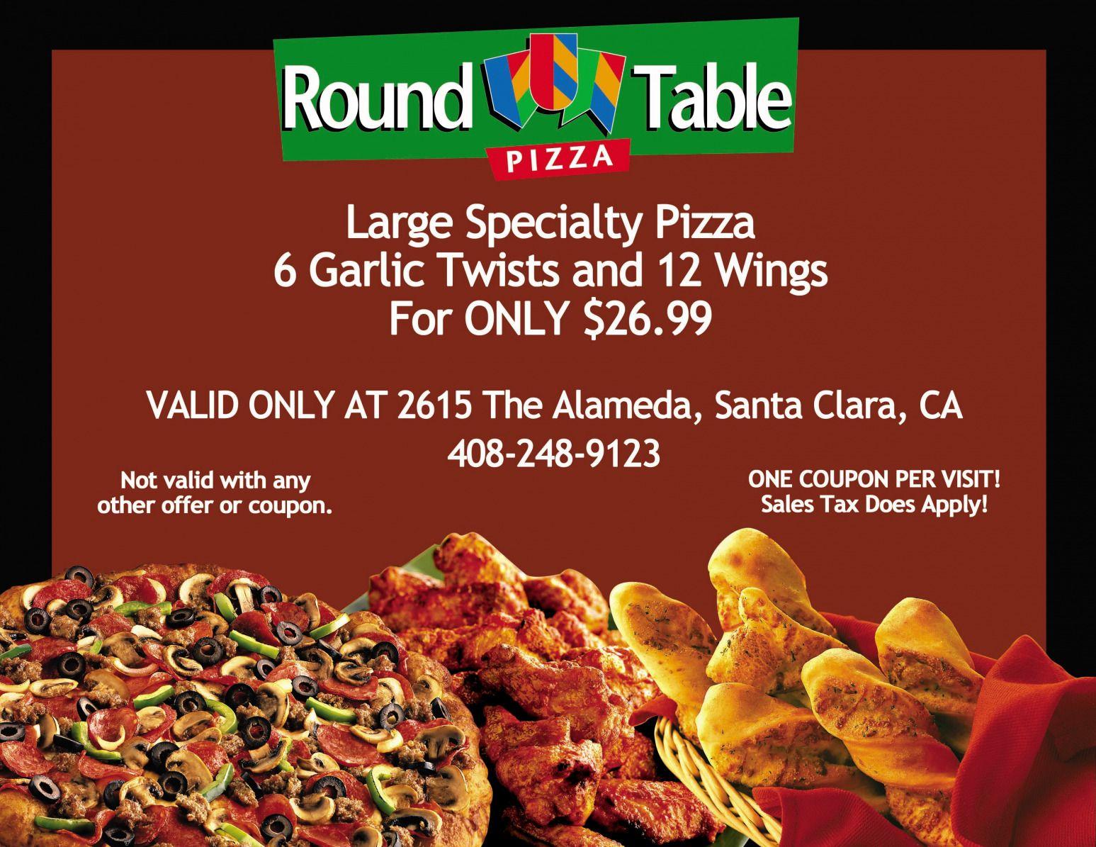 Round Table Pleasanton Ca.Round Table Pleasanton Coupons Deoverslag