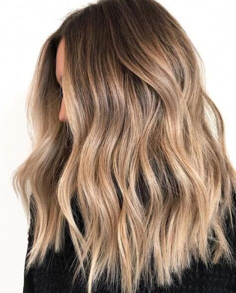 60 Long Curl Hair With Stunning Balayage Highlights - meetflyer.com